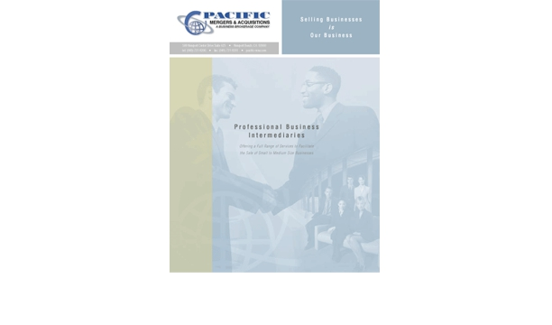 Pacific Mergers brochure
