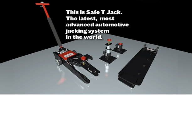 Safe T Jack Family, 3D illustration