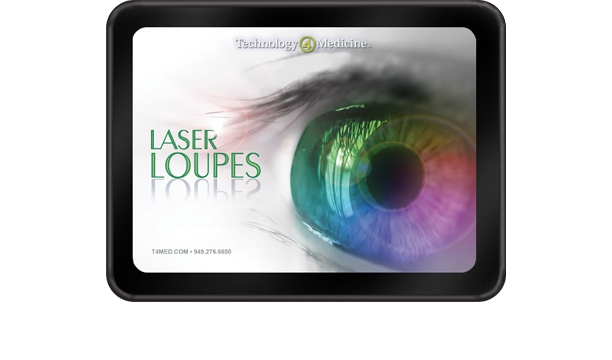 Laser Loupes package design