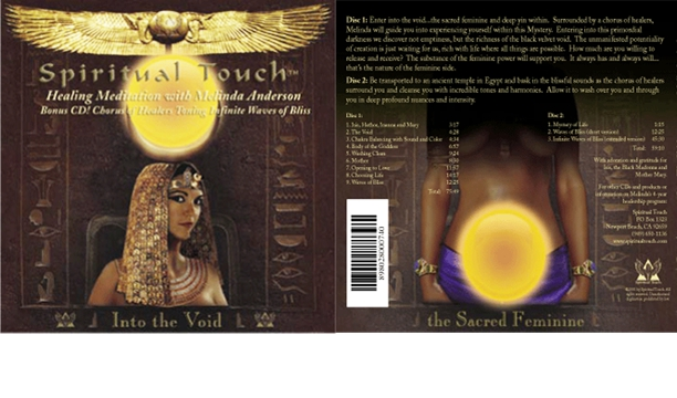Spiritual Touch CD cover